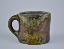 221-Andrew Sartorius- Two Tone 2 Wild West Virginia Clay Mug